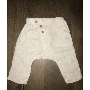 Zara mini 3/6 month pants
